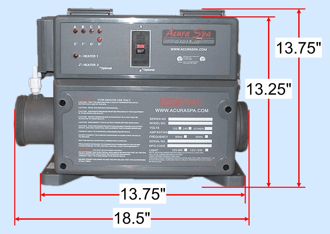 Acura Spa Contactor Relay Wiring Diagram - House Wiring Diagram ...
