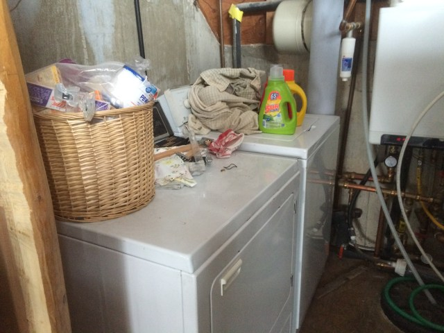Old Washer and Dryer Set