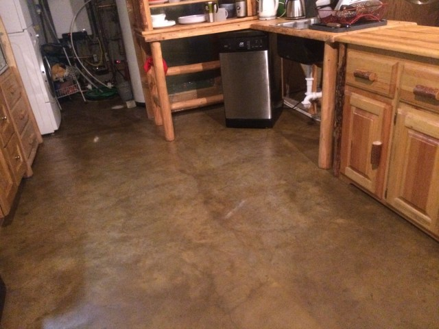 Sealed Kitchen Floor