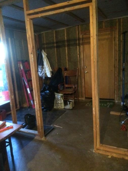 Air Lock Entry Inside Door Frame