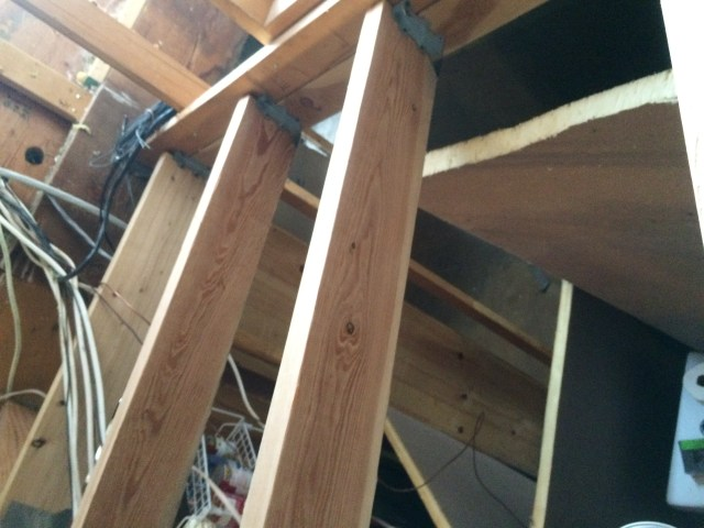 Joists from Above