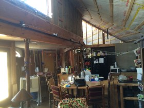 Today's View of Kitchen/Dining