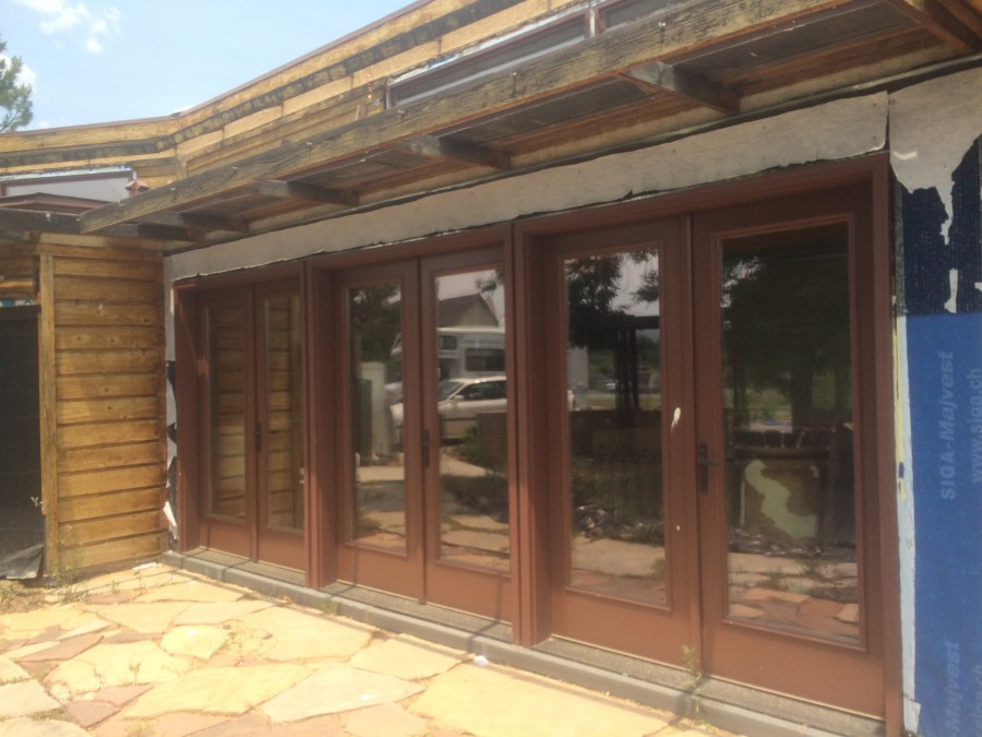 Summer Doors with Shading
