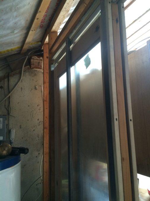 Upper Pocket Door Frame