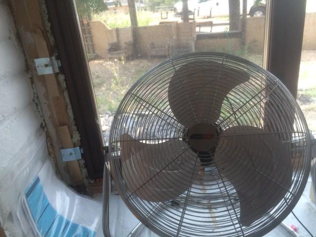 Fan in Window
