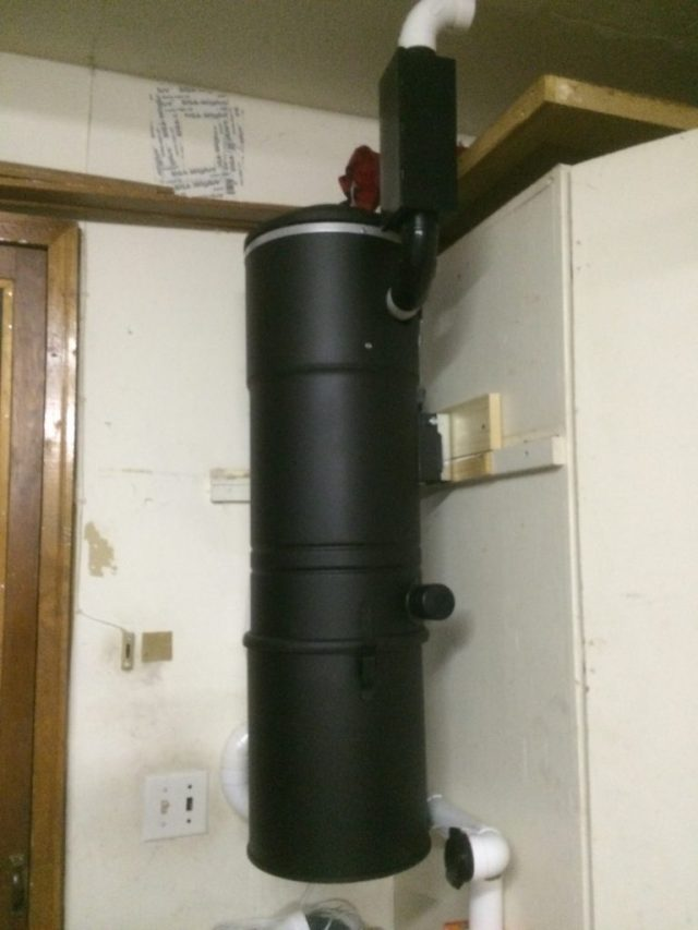 Central Vac Installed