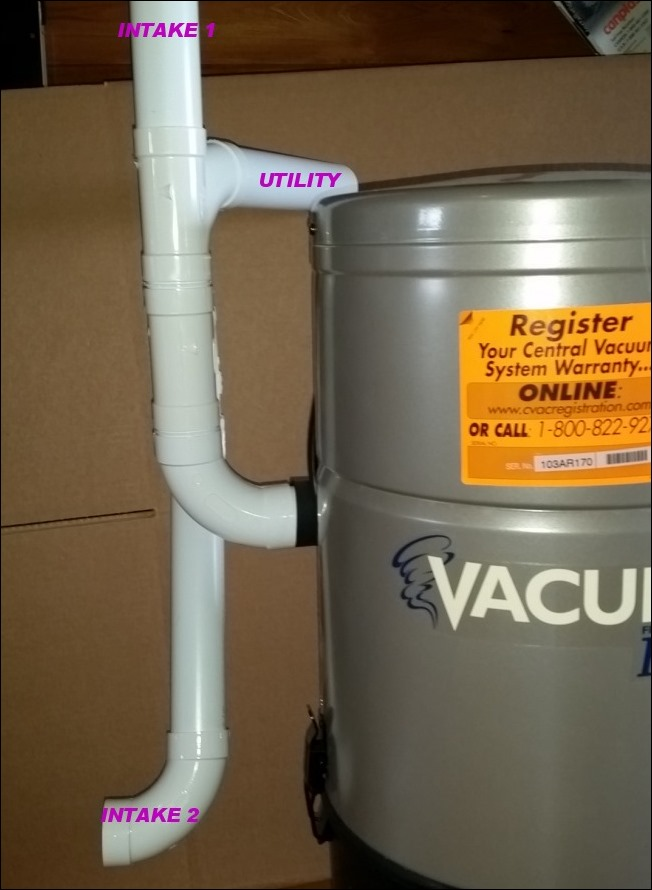 Suggested Central Vac Connections