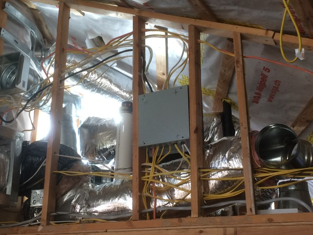 Supply piping and Exhaust Duct