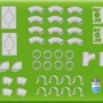 Central Vac Install Kit