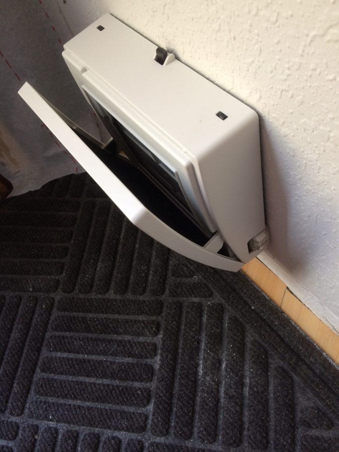 Open Crawlspace Ventilation Fan