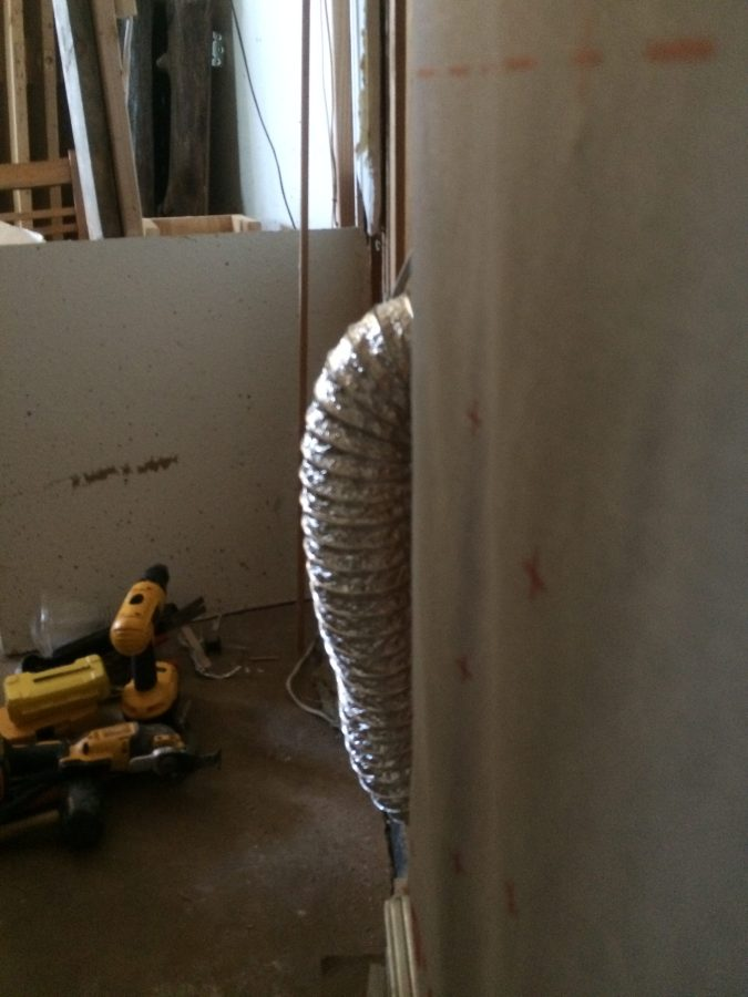 Duct for Ventilation Fan