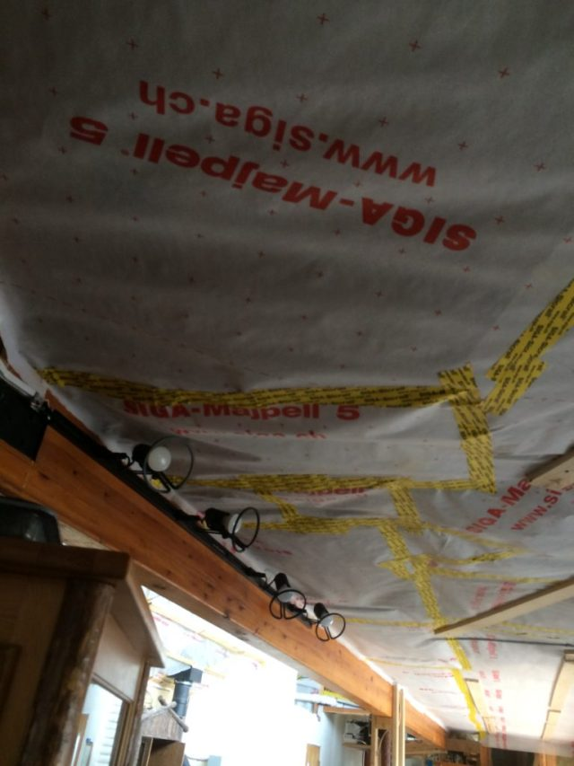 Wiring Chase Membrane
