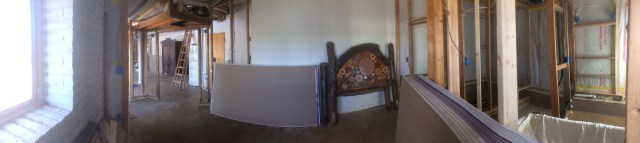 Panorama from Master Bedroom