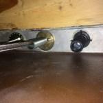 Faucet under sink