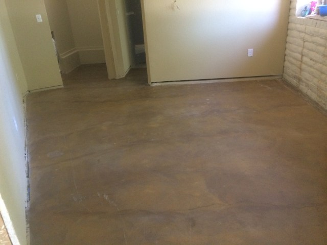 Sealed floor