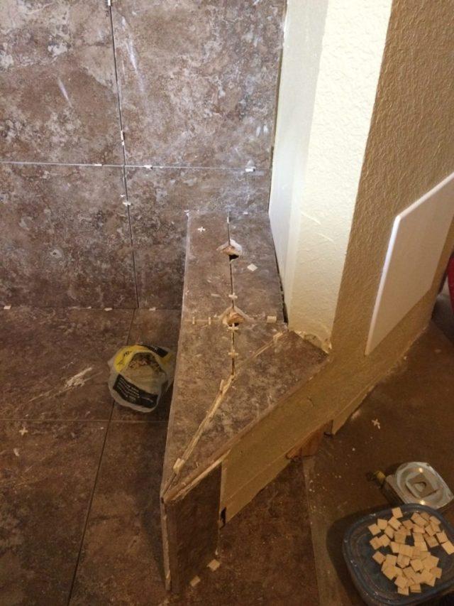 Tiled step
