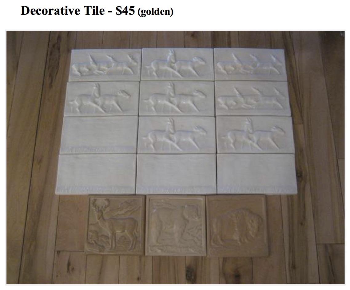 Master Bath Decorative Trim Tile   Twinsprings Research ...