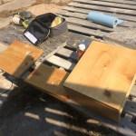 Sanding and Waterlox
