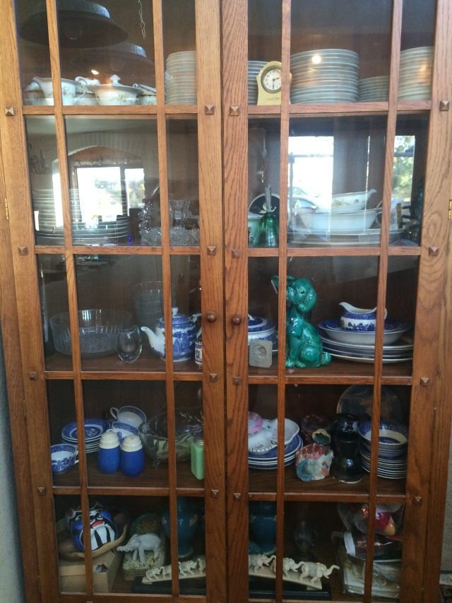 Bookcase to china cupboard