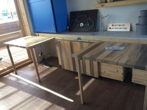 Modular hand built furniture