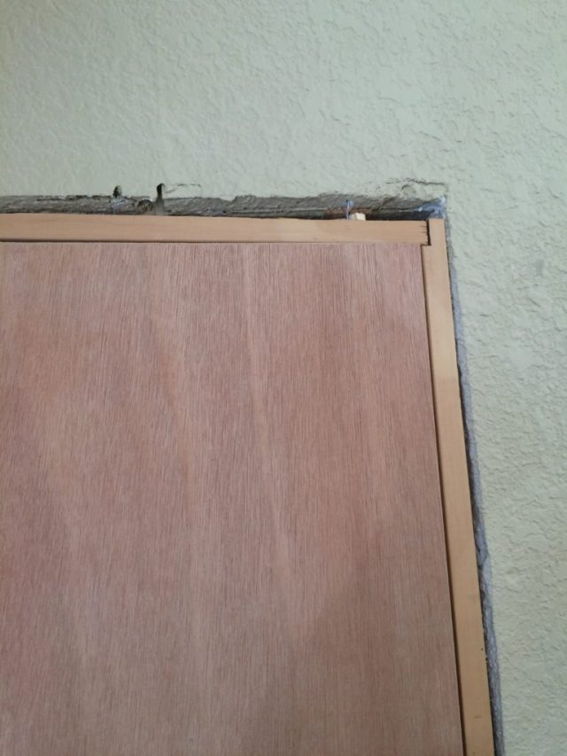 Uneven framing
