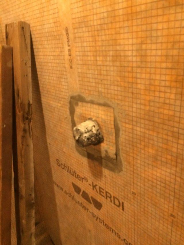 Handmade shower control gasket