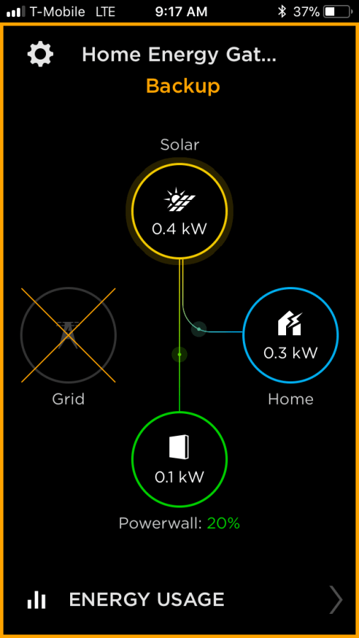 Solar to battery and house