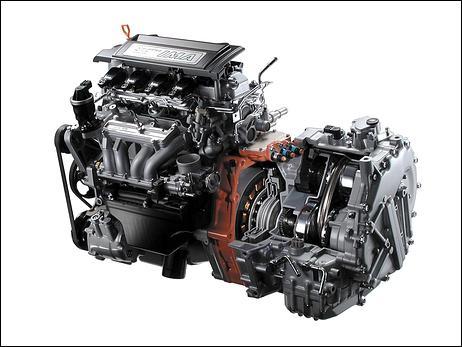 Honda power plant
