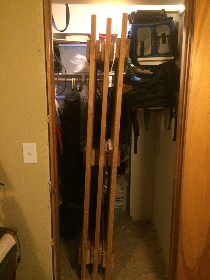 Doors in the storage closet