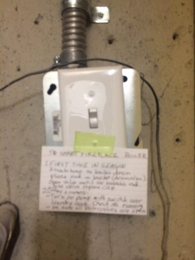 Pump switch and system instructions