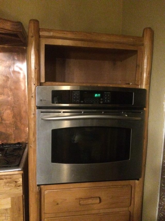 New/used GE Profile oven