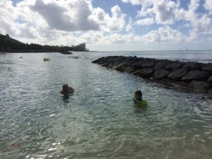 Waikiki Beach Breakwater