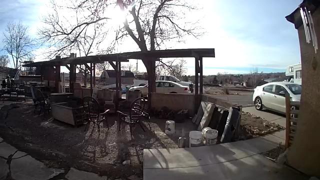 Daytime camera view