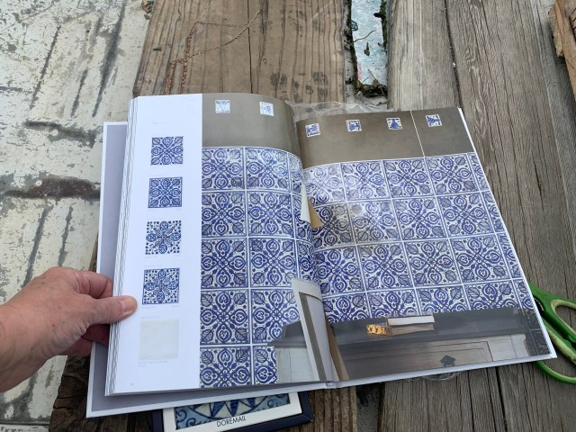 Decorative tile selection in catalog