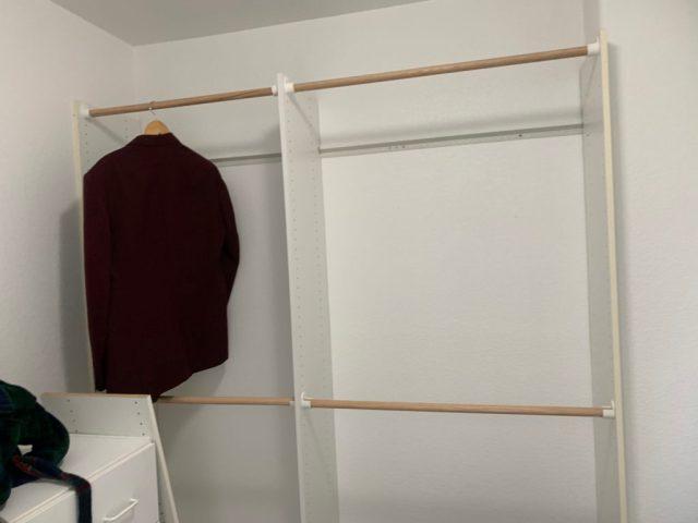 More master closet