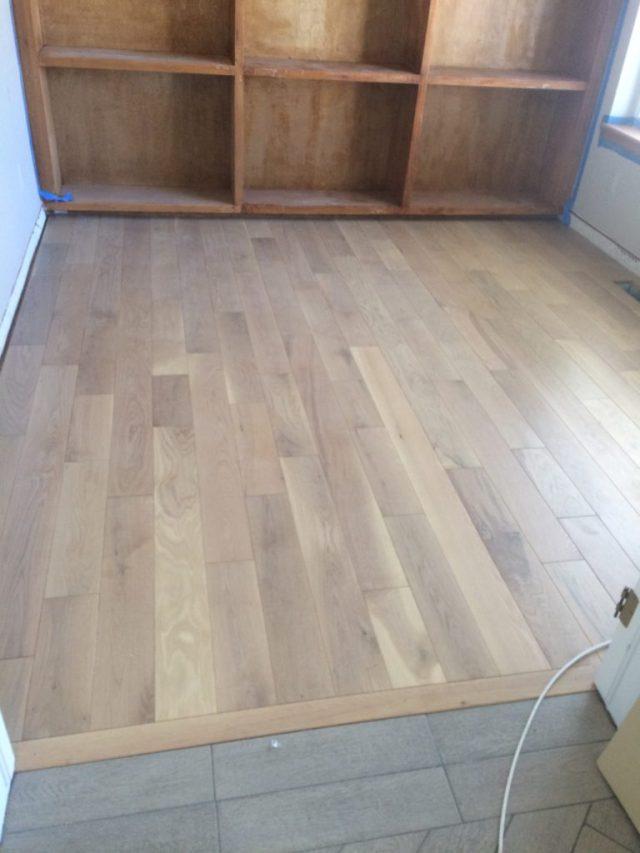 New office floor