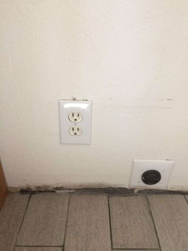New outlet brought down from microwave
