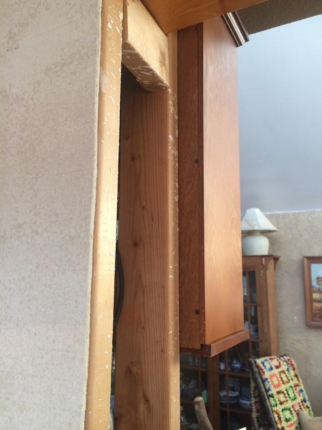 Cement board on column