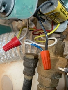 Main pump wiring