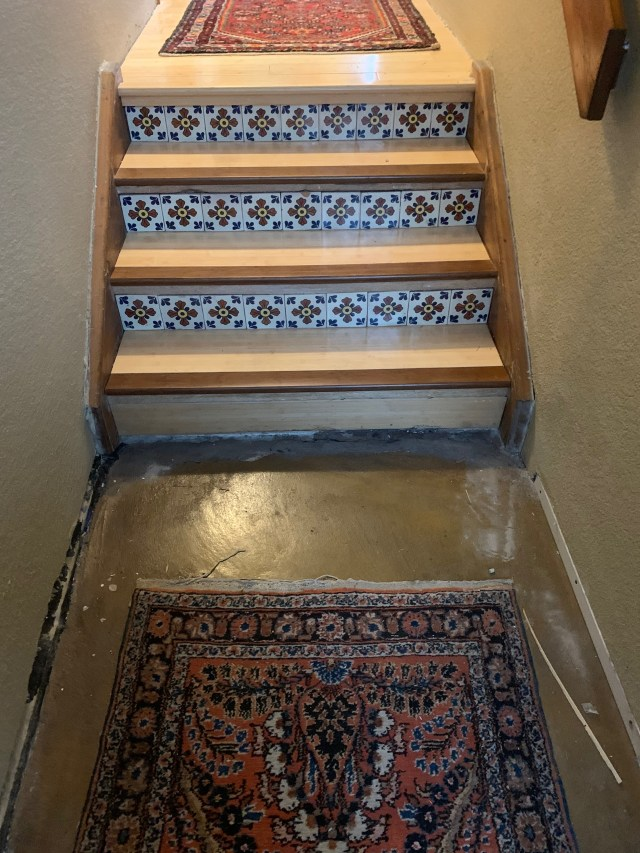 Stairs with new edges