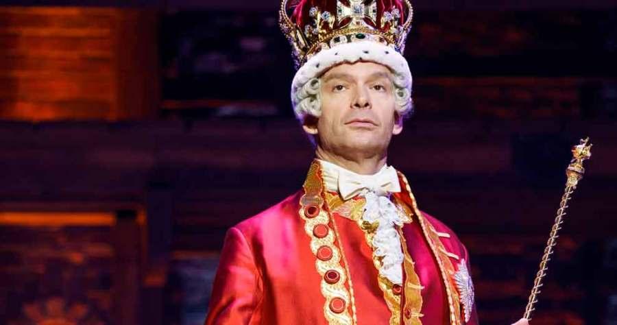 King George! Ironic comedy