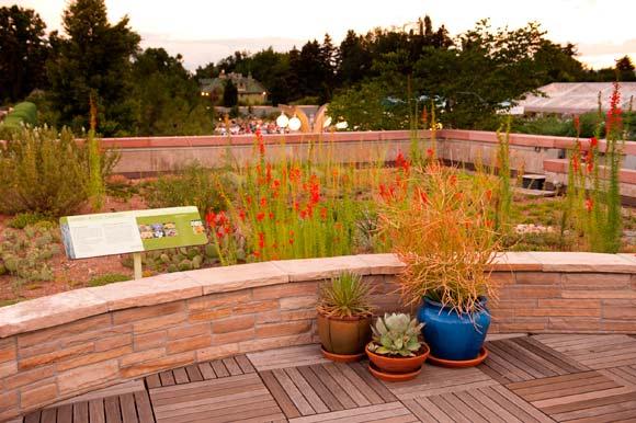 Denver Botanic Garden Rooftop garden