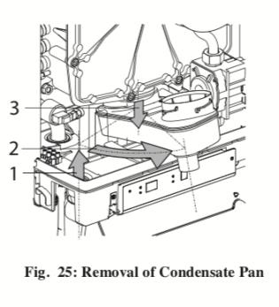 Challenger Condensate pan