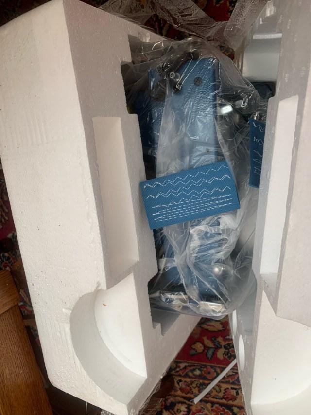 Styrofoam packing