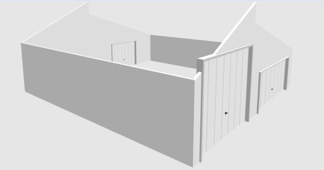 Dibble 10 ft garage wall