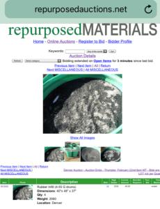 Repurposed Ground Rubber Ad