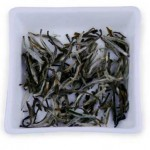 Silver needles are the young buds of the Camellia sinensis plant, and look like their name.