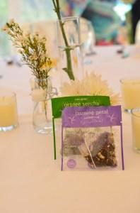 Bada boom, bada bing: Sachets make easy wedding favors!