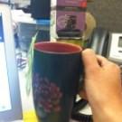 My favorite mug at work -- steepin' some Tropical Green.