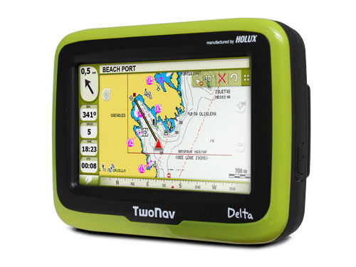Compegps will release the next May 16th his new GPS device TwoNav Delta.